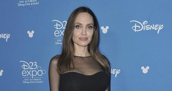 Angelina Jolie, D23 Expo, Anaheim, California, Maleficent: Mistress Of Evil, The Eternals
