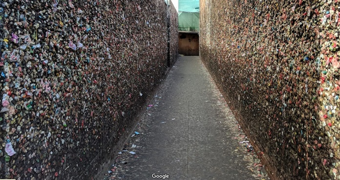 Bubblegum Alley, California, Callejón del Chicle, San Luis Obispo