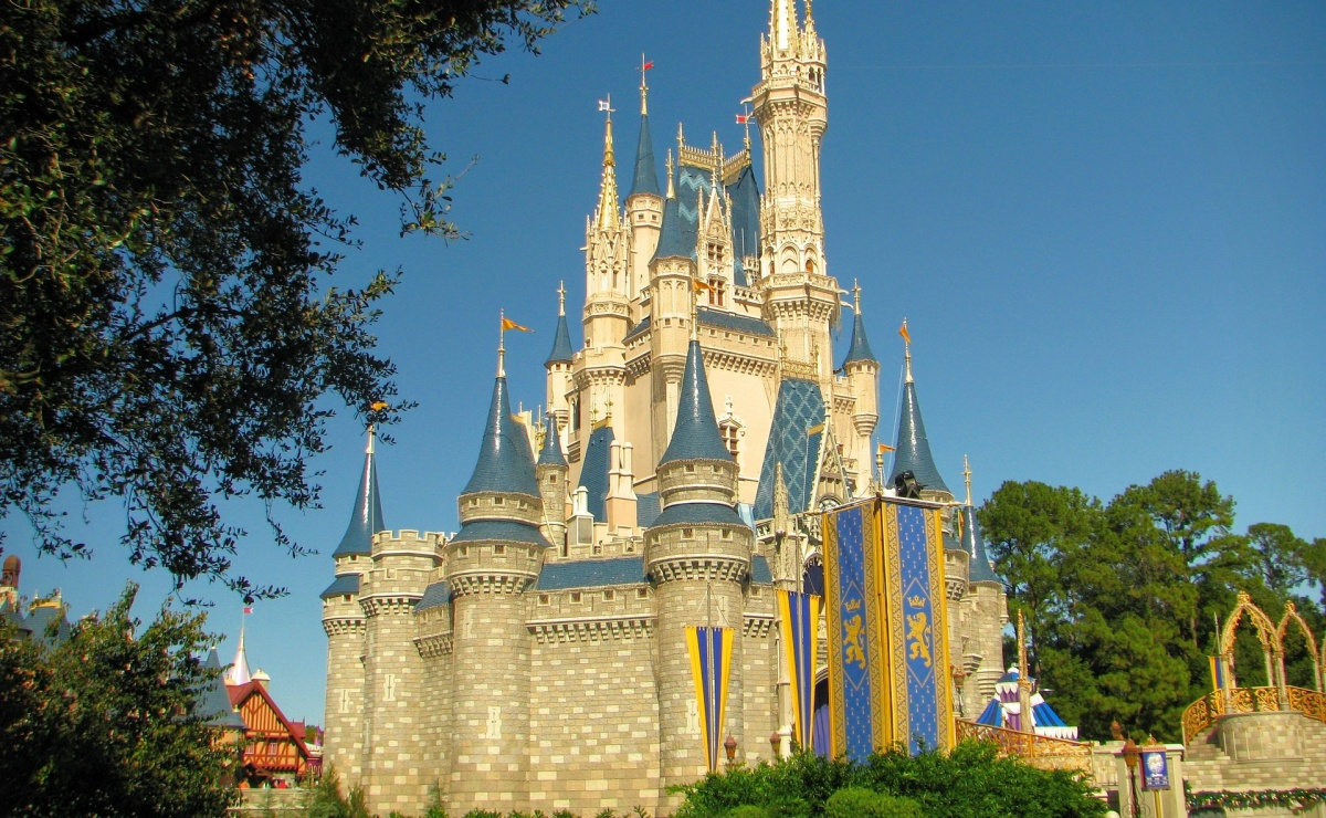 Disney World, Orlando, Castillo de Cenicienta