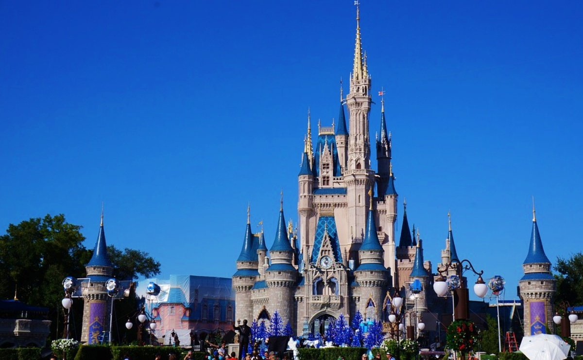 Castillo de Cenicienta en Walt Disney World