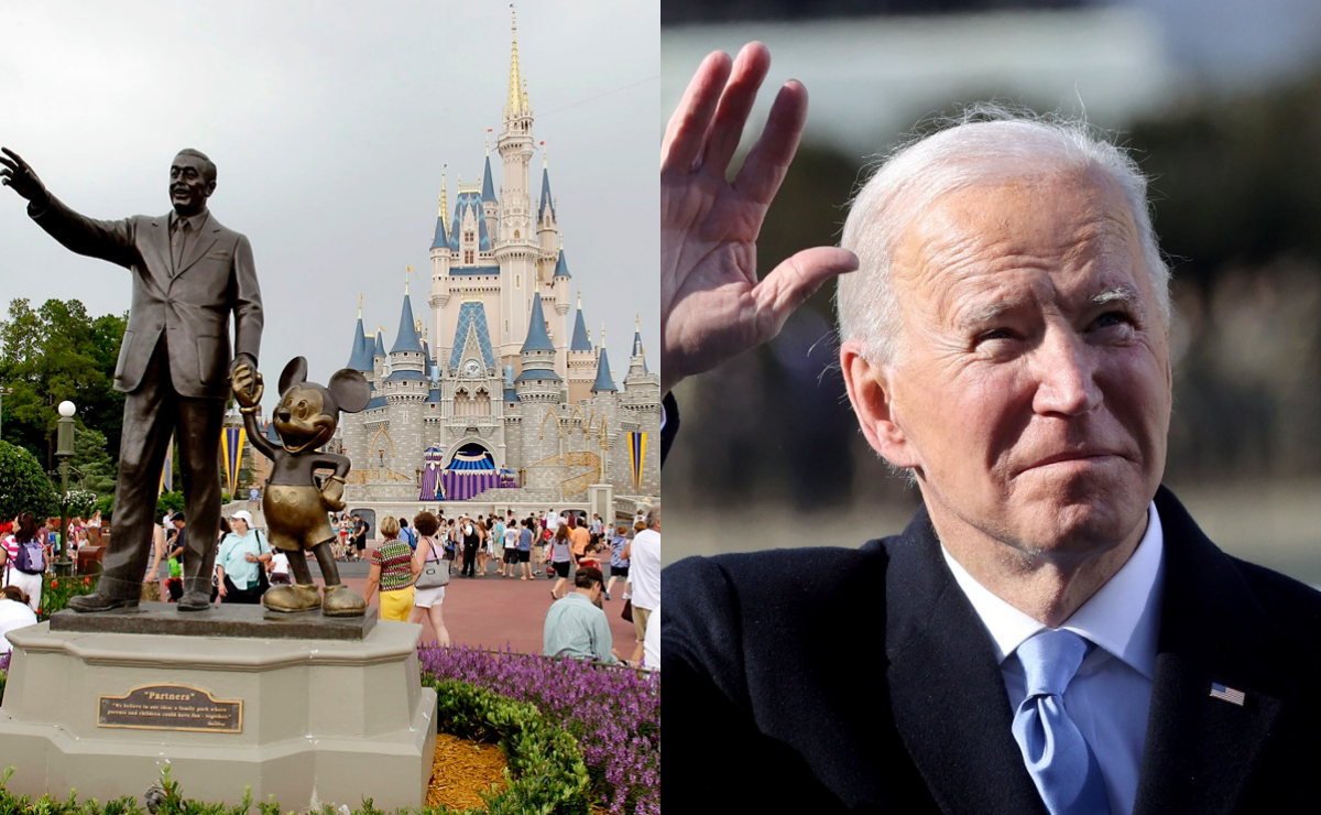Disney World y Joe Biden