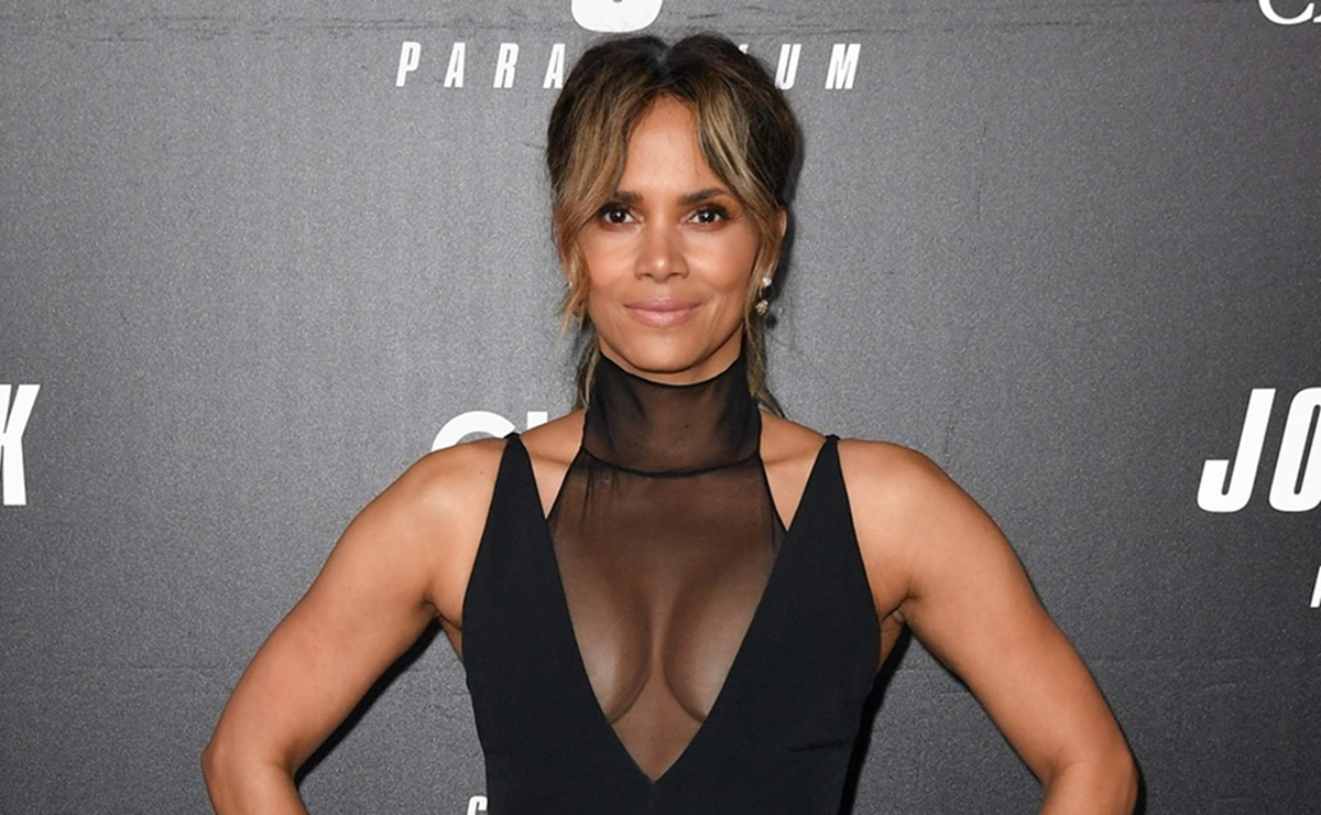 Halle Berry, leggings
