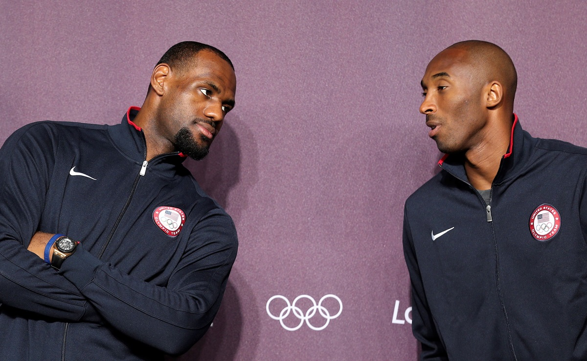 Kobe Bryant, NBA, LeBron James