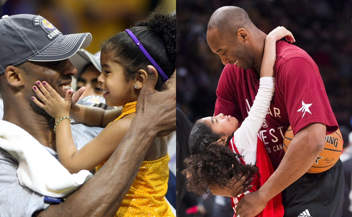 Girl Dad, Kobe y Gianna Bryant