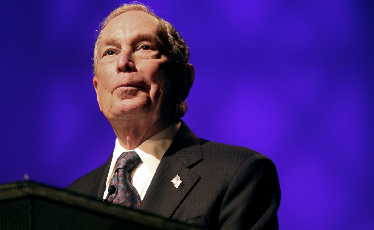 El multimillonario Michael Bloomberg