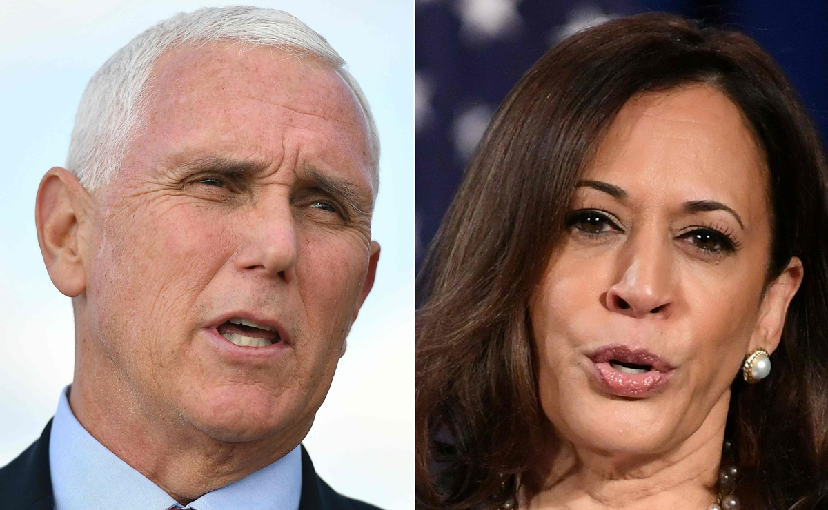 Mike Pence y Kamala Harris