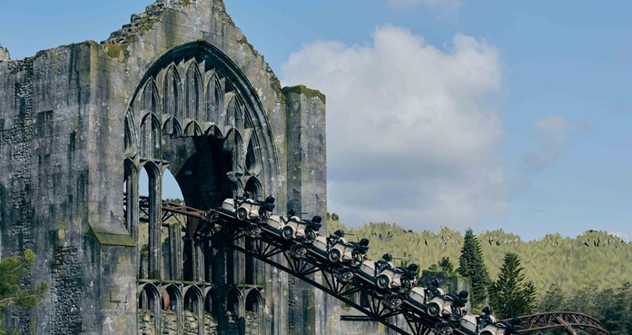 Hagrid's Magical Creatures Motorbike Adventure, Wizarding World of Harry Potter, Harry Potter,