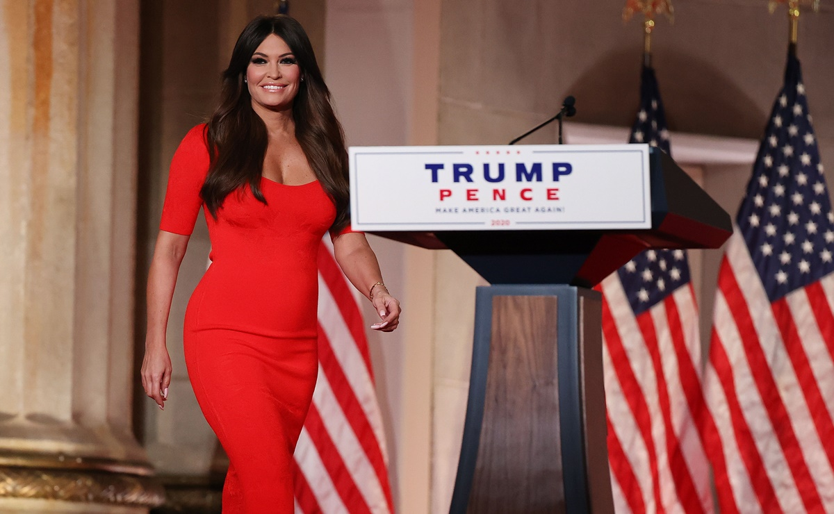 Kimberly Guilfoyle, la novia latina de Donald Trump Jr.