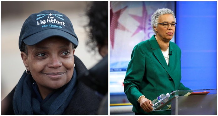 Lori Lightfoot, Toni Preckwinkle