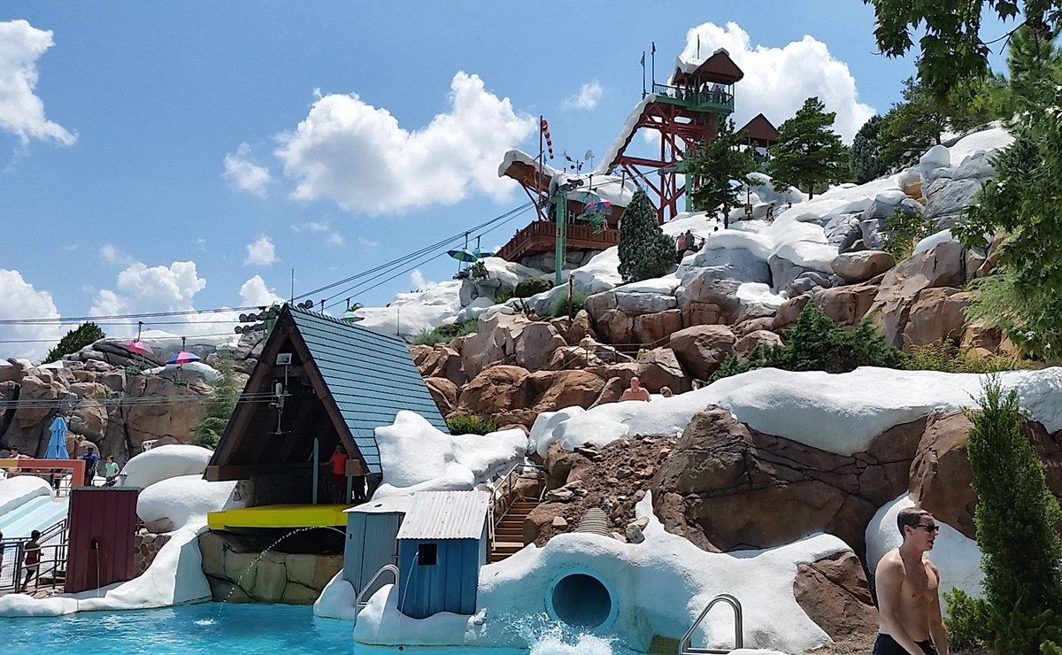Blizzard Beach Disney World