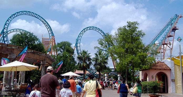 six flags fiesta texas, san antonio, texas,