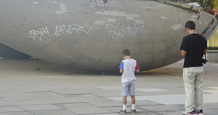 Cloud Gate, The Bean, Chicago,