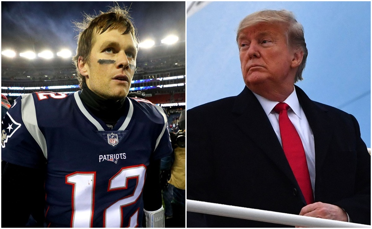 Tom Brady, Donald Trump,
