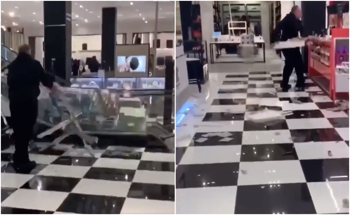 video, Bloomingdale's, Connecticut