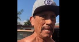Actor latino Danny Trejo rescata a un bebé tras un accidente