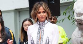 Halle Berry irradia belleza con minivestido en Hollywood