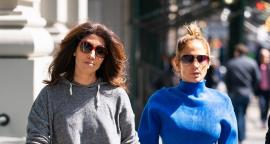 Jennifer Lopez y su hermana lucen leggings 'electrizantes' en Nueva York