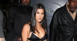 Kourtney Kardashian conquista California con tendencia 'bra out'