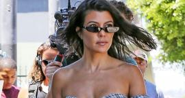 Kourtney Kardashian suspects figure with a micro-bikini in Palm Springs