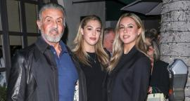 Daughters of Sylvester Stallone dazzle with beauty in Beverly Hills