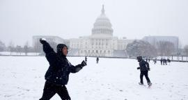 Las fotos de la nevada que 'pintó' de blanco a Washington DC