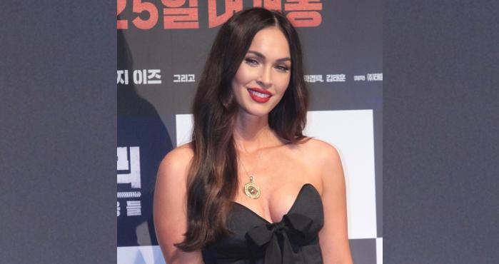 Megan Fox, lencería, Instagram