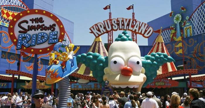 The Simpson Ride, Universal Studios Hollywood