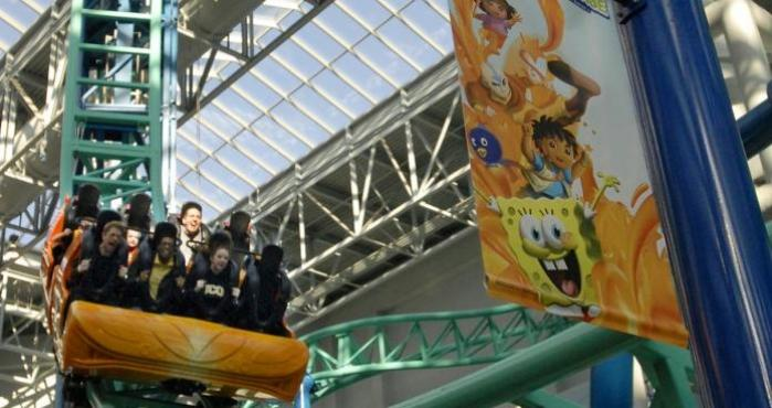 Nickelodeon Universe, Mall of America, Minnesota