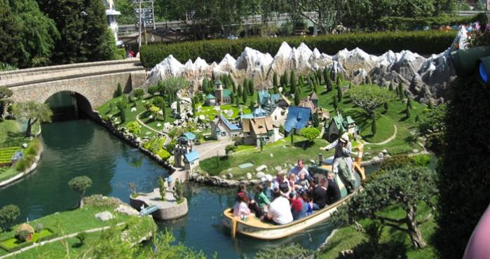 Storybook Land, Disneyland, California,