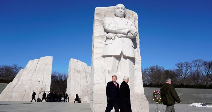 Trump, Martin Luther King