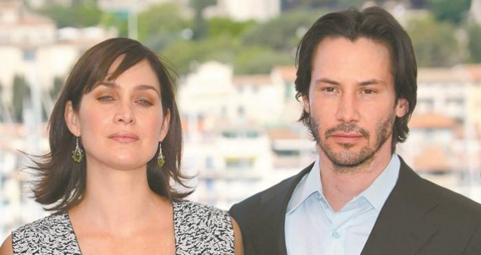 Keanu Reeves y Carre-Ann Moss, The Matrix