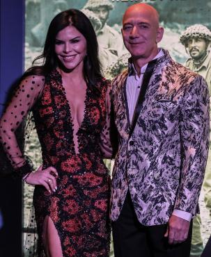 Lauren Sanchez, Jeff Bezos, Amazon,