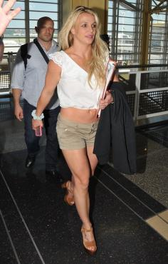 Britney Spears en mini short