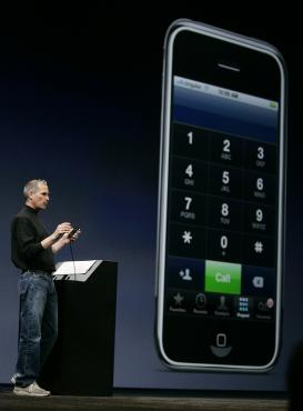 iPhone, Steve Jobs,