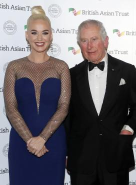Katy Perry, British Asian Trust, príncipe Carlos,