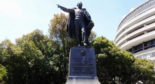 Estatua de Benito Juárez en Washington DC