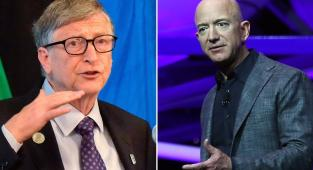 Bill Gates y Jeff Bezos