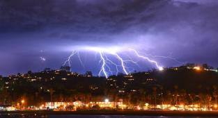 Tormenta en california