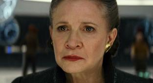 Carrie Fisher, Star Wars, Leia, The Rise of Skywalker,