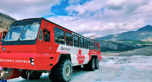 Columbia Icefield tour