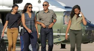 Familia Obama, Thanksgiving