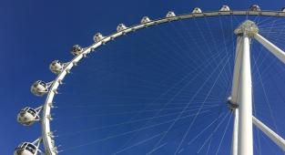 High Roller, The Linq, Las Vegas, Nevada, rueda de la fortuna,