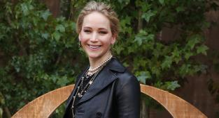 La actriz Jennifer Lawrence