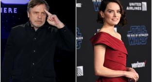 Daisy Ridley, Mark Hamill, Star Wars, Star Wars: The Rise of Skywalker,