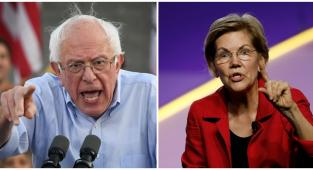 Sanders, warren, democratas