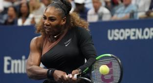 La superestrella del tenis estadounidense Serena Williams