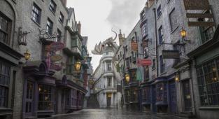 Universal Studios Florida, Harry Potter, Gringotts,