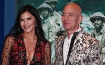 Amazon, Jeff Bezos, Lauren Sanchez,