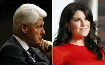 Monica Lewisky y Bill Clinton