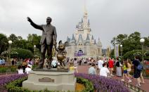 Castillo de Cenicienta en Disney World